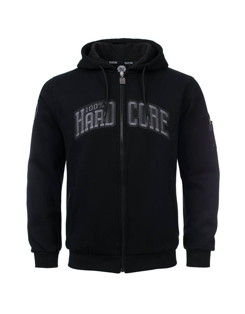 100% Hardcore 100% Hardcore Hooded Zipper 'The Bull'