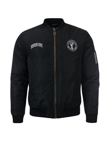 100% Hardcore 100% Hardcore Winter Bomber Jacket 'United We Stand'