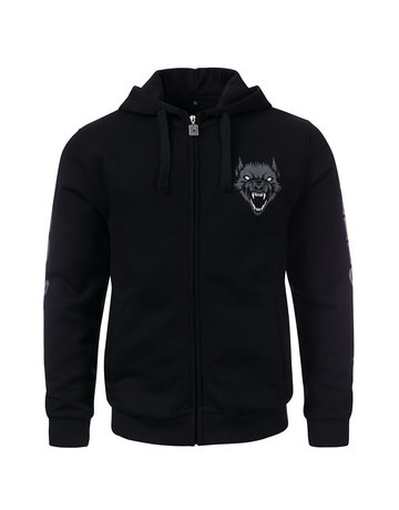 100% Hardcore 100% Hardcore Hooded Zipper 'The Wolf'