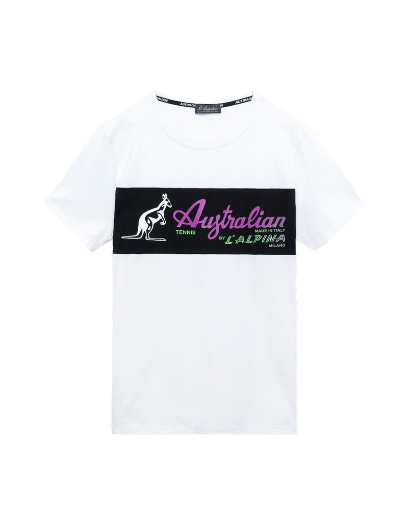Australian Australian T-Shirt Jersey (White/Multi)