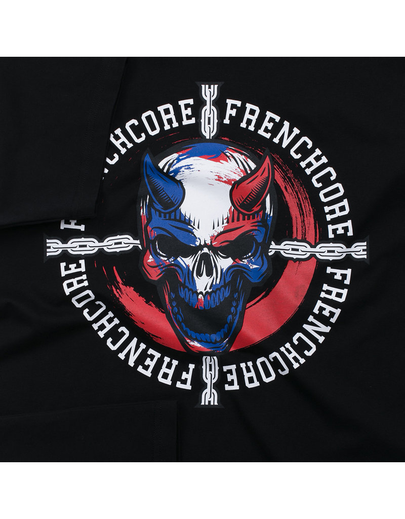 Frenchcore Frenchcore T-shirt 'Dead Evil'