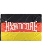 100% Hardcore 100% Hardcore Fahne 'Deutschland'