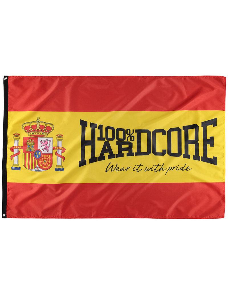 100% Hardcore 100% Hardcore Banner 'Spain'