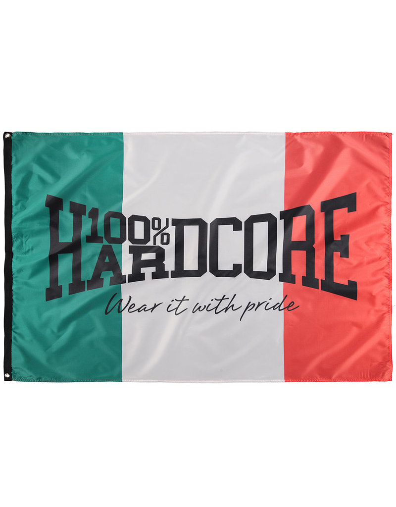 100% Hardcore 100% Hardcore Vlag 'Italië'