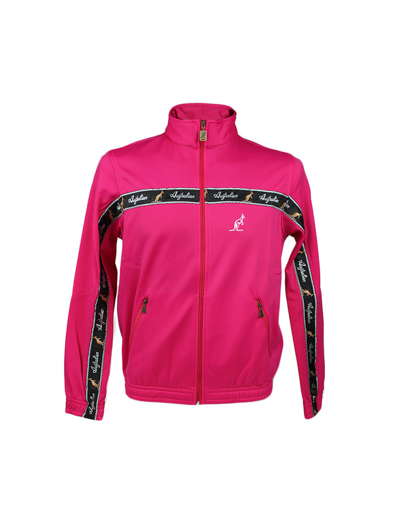 Australian Australian Trainingsjacke mit Streifen (Pink/Black)