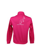Australian Australian Uni Track Jacket with tape (Pink/Black)