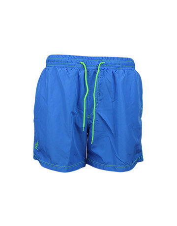 Australian Australian Swimming Shorts (Blue/Neon Green)