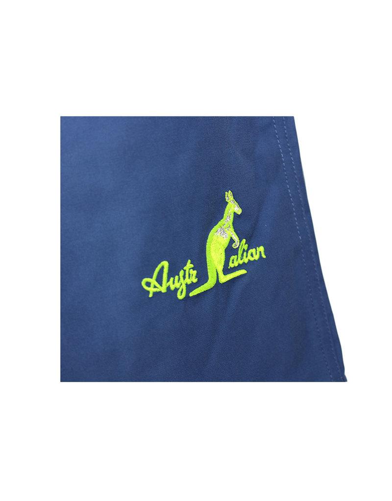 Australian Australian Badehose (Blue/Neon Yellow-Silver)
