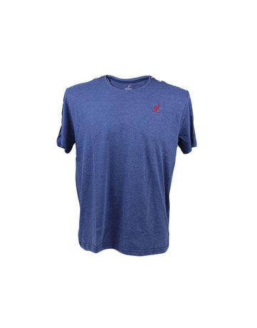 Australian Australian T-Shirt Jersey met bies (Navy/Navy/Red)