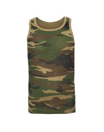 Fostex Garments Fostex Garments Camo Singlet