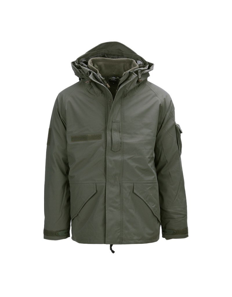 101 INC 101 INC Military Parka Jacket (Green)