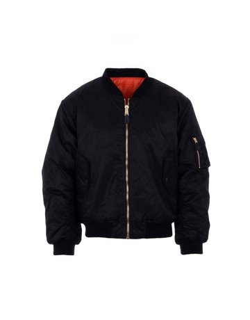 Fostex Garments Fostex Garments MA-1 Kids Bomber Jack (Black)