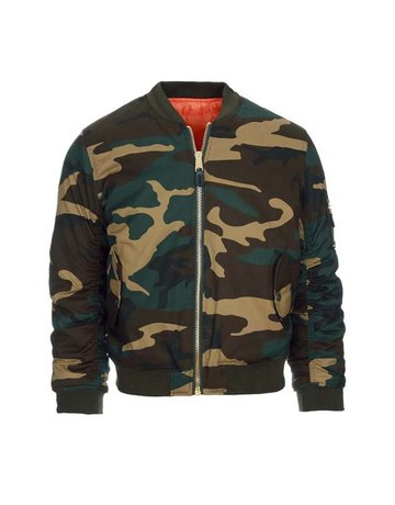 Fostex Garments Fostex Garments MA-1 Kids Bomber Jack (Woodland)