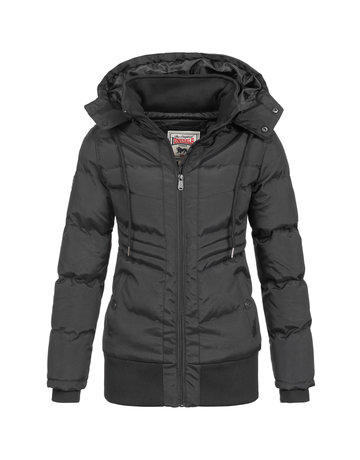 Lonsdale Lonsdale Ladies Jacket 'Beenham' (Black)