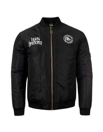 100% Hardcore 100% Hardcore Bomber Jacke 'Stand Your Ground'