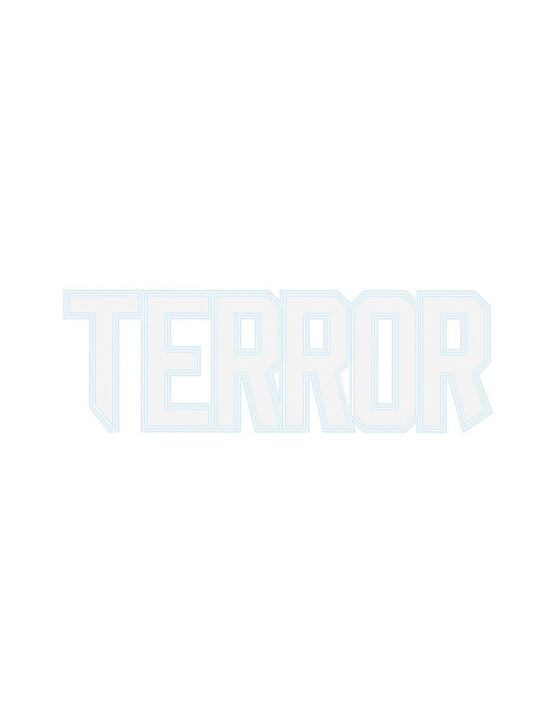 Terror Terror Car Sticker