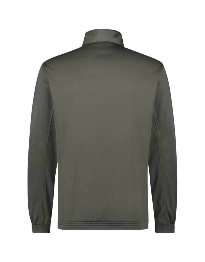 Australian Australian Uni Track Jacket with tape (Green Dill/Black)