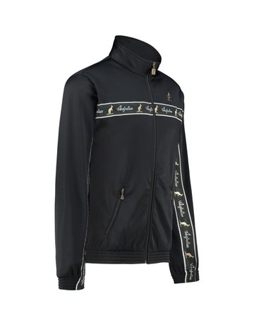 Australian Australian Track Jacket with tape (Black/Black)