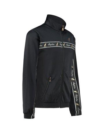 Australian Australian Uni Track Jacket with tape (Black/Black)