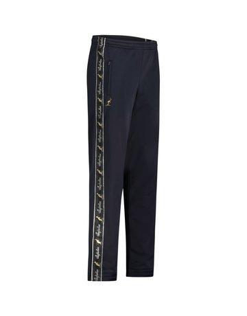 Australian Australian Track Pants with tape (Blue Navy Melange/Black)