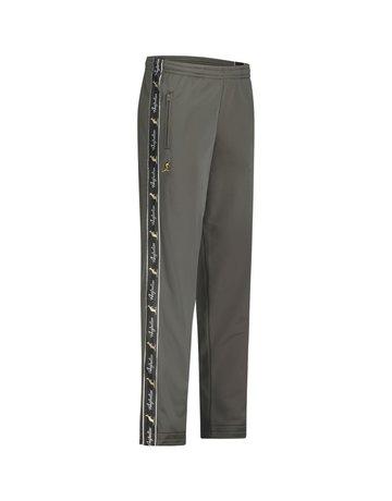 Australian Australian Track Pants with tape (Green Dill/Black)