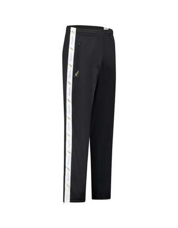 Australian Australian Track Pants with tape (Black/White)