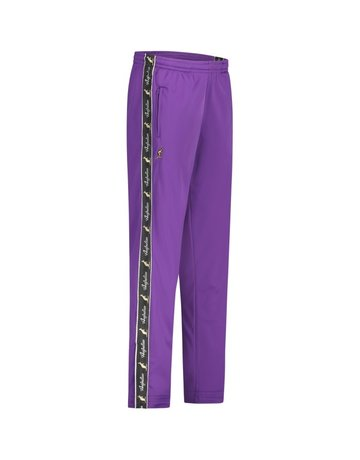 Australian Australian Track Pants with tape (Purple/Black)