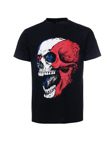 Frenchcore Frenchcore T-shirt 'Toxic Death'