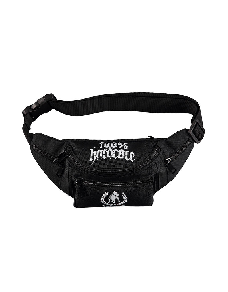 100% Hardcore 100% Hardcore Bum Bag 'Standing The Ground'