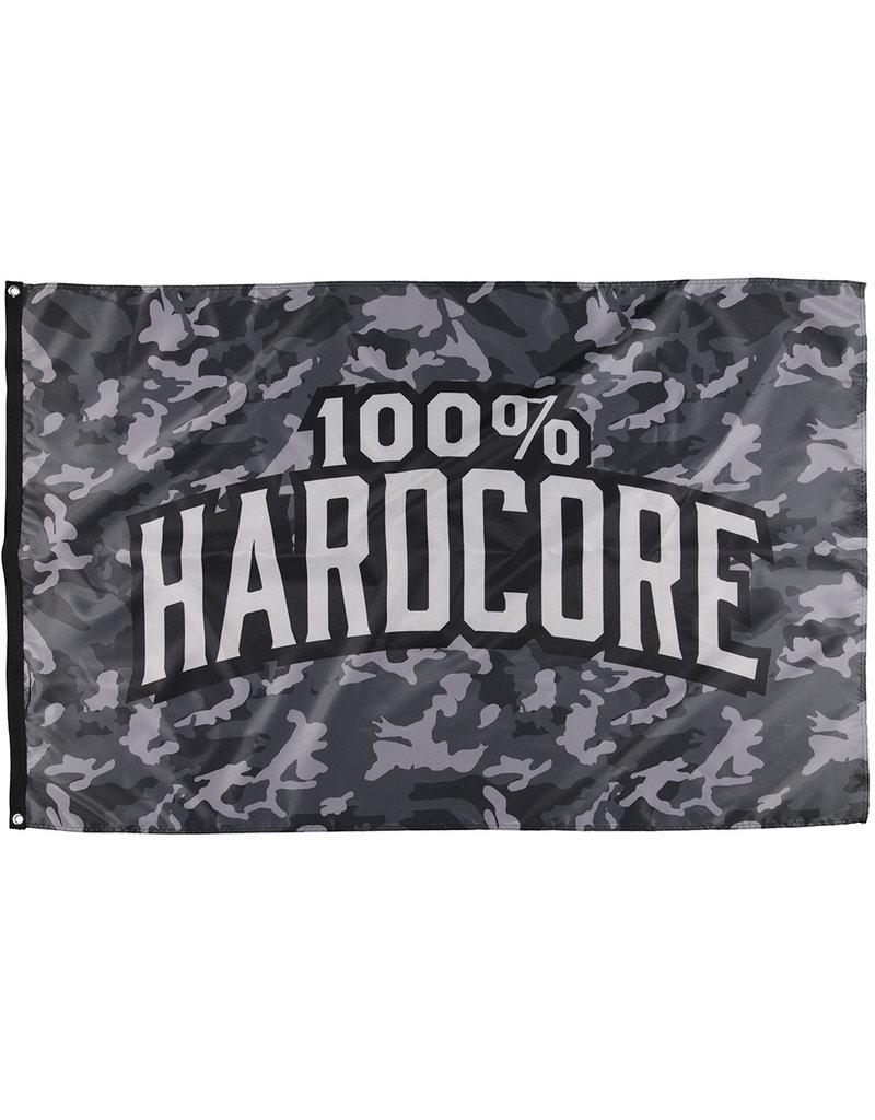 100% Hardcore 100% Hardcore Fahne 'Camo'