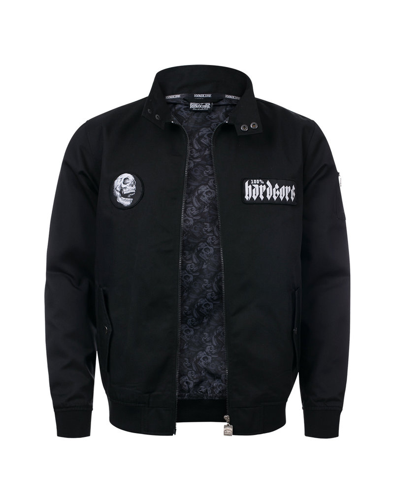 100% Hardcore 100% Hardcore Harrington Jacket 'Screaming Skull'