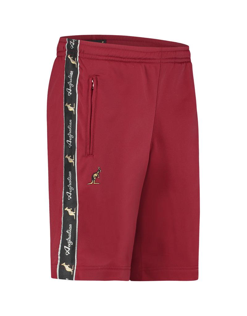 Australian Australian Bermuda Shorts (Burgundy/Black)