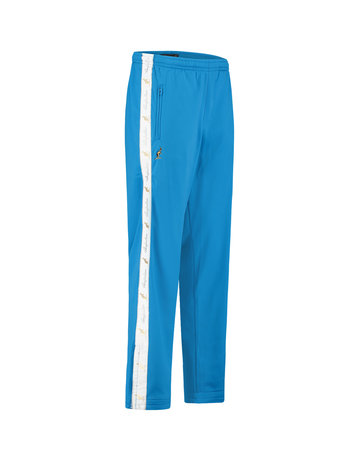 Australian Australian Track Pants with tape (Capri Blue/White)