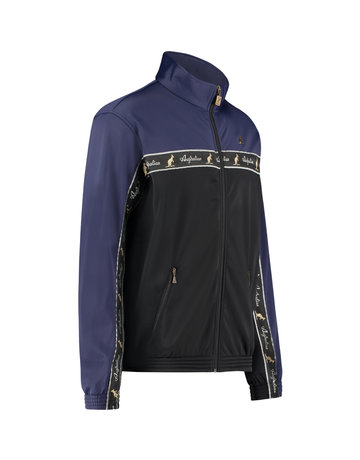 Australian Australian Duo Track Jacket with tape (Cosmo Blue/Black)