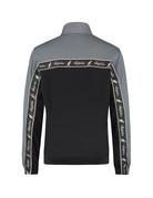 Australian Australian Duo Track Jacket with tape (Steel Grey/Black)