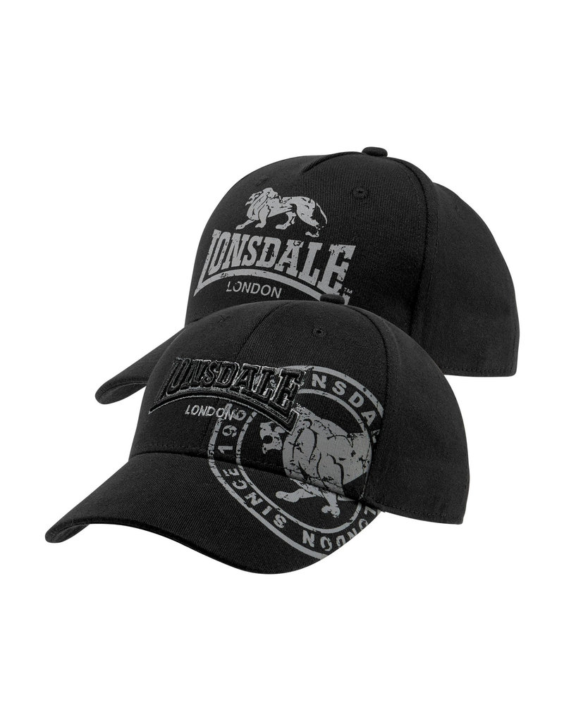 Lonsdale Lonsdale Kappe 'Leiston' Doppelpack