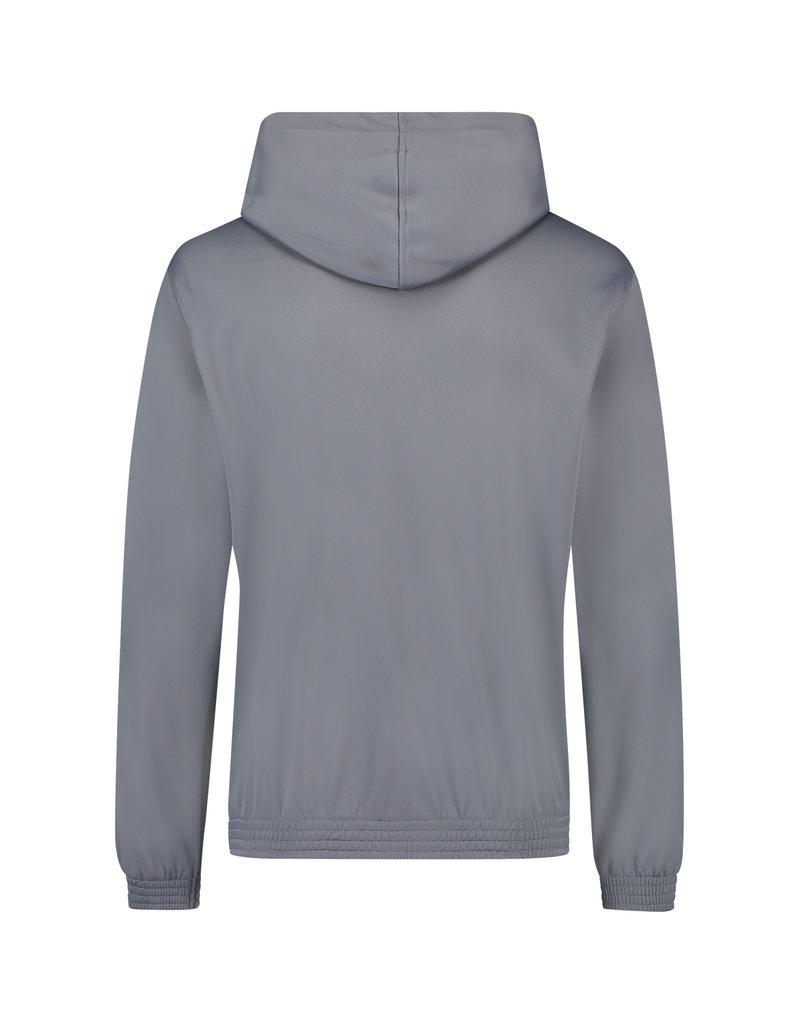Australian Australian Hooded Trainingsjacke mit Streifen (Steel Grey/Black)
