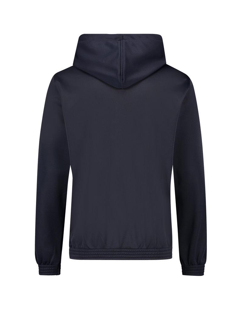 Australian Australian Hooded Trainingsjacke mit Streifen (Blue Navy Melange/Black)