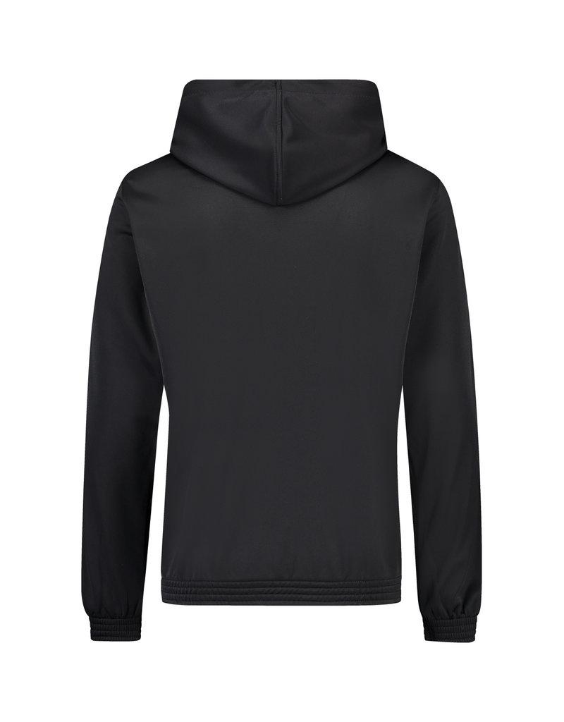Australian Australian Hooded Track Jacket with tape (Black/Black)