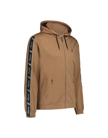 Australian Australian Hooded Track Jacket with tape (Bronze/Black)