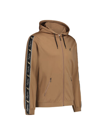 Australian Australian Hooded Trainingsjacke mit Streifen (Bronze/Black)