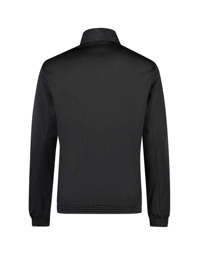 Australian Australian Track Jacket with tape (Black/Black)