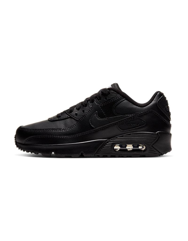 Nike Nike Air Max 90 Leather GS (Black/Black)