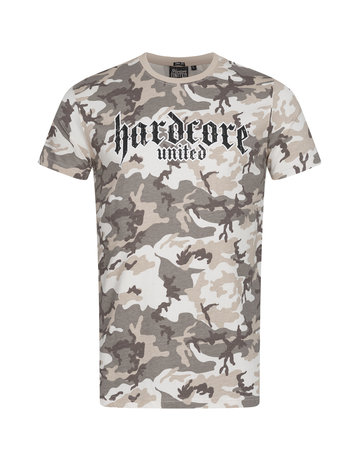 Hardcore United Hardcore United Slim Fit T-Shirt 'Urban Tan'