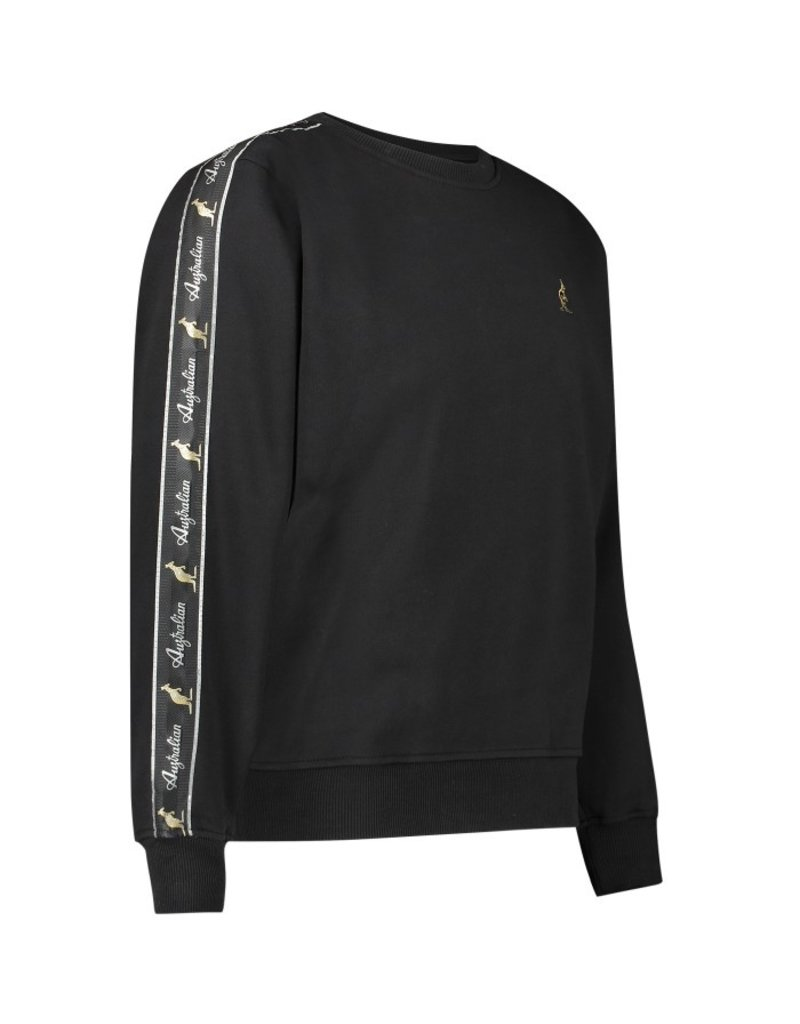 Australian Australian Sweater mit streifen (Black)