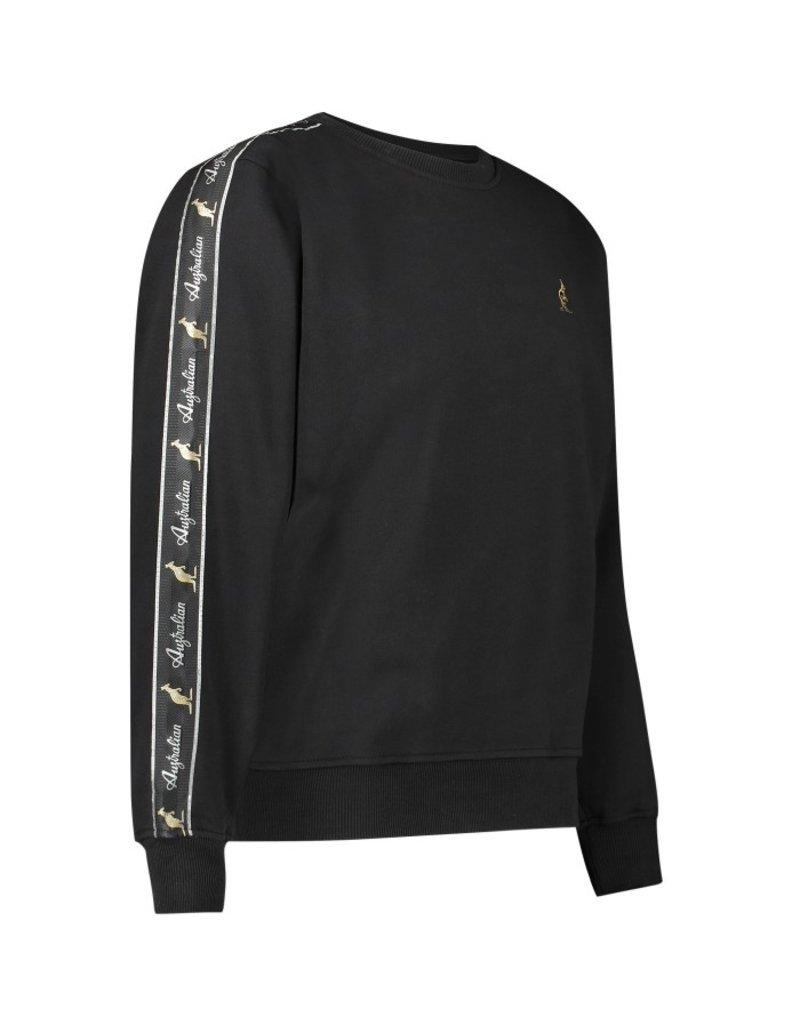 Australian Australian Sweater with tape (Black)