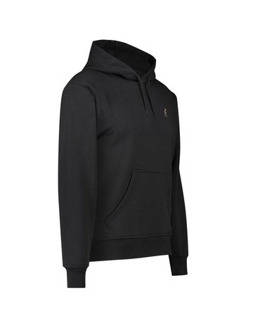 Australian Australian Hoodie with tape (Black)