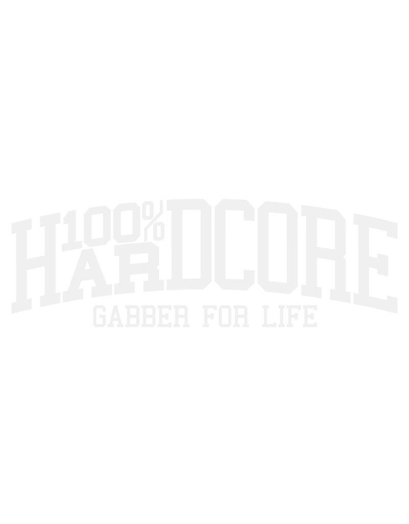 100% Hardcore 100% Hardcore Car Sticker 'Gabber for Life'