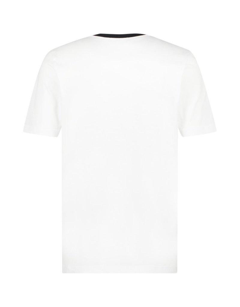 Australian Australian T-Shirt Jersey mit Streifen (White/Black)