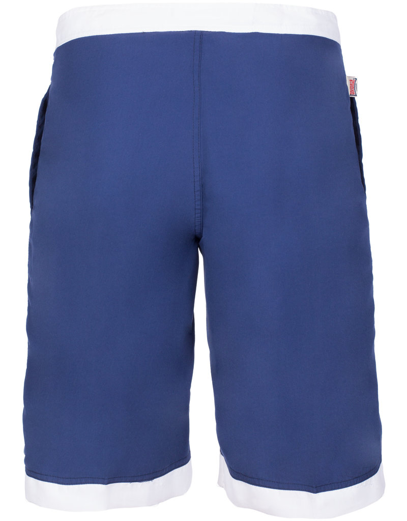 Lonsdale Lonsdale Heren Zwembroek 'Clennell' (Navy/White)